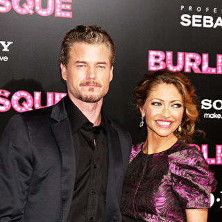 "Eric Dane, Rebecca Gayheart in Los Angeles Premiere of ""Burlesque"""