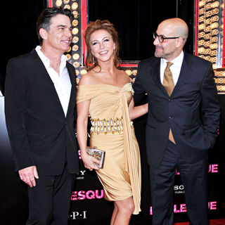 "Peter Gallagher, Julianne Hough, Stanley Tucci in Los Angeles Premiere of ""Burlesque"""
