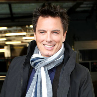 John Barrowman Outside The ITV Studios