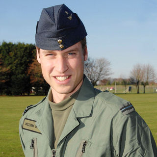 Prince William in Prince William Spent A Week with The RAF Undertaking Pre-Training Tests Prior