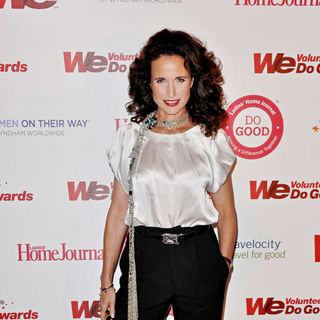 Andie MacDowell in WE tv and Ladies' Home Journal's WE Do Good Awards