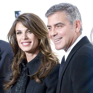 Elisabetta Canalis, George Clooney in The Robert F. Kennedy Center for Justice & Human Rights Ripple of Hope Awards Dinner