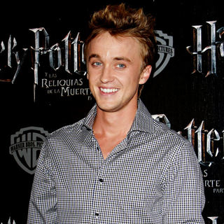 Tom Felton in Tom Felton at The Four Seasons Hotel