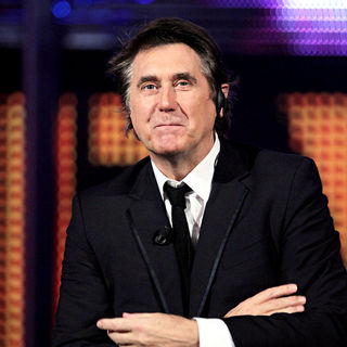 Bryan Ferry in Bryan Ferry Appears on The TV Show 'Chiambretti Night'