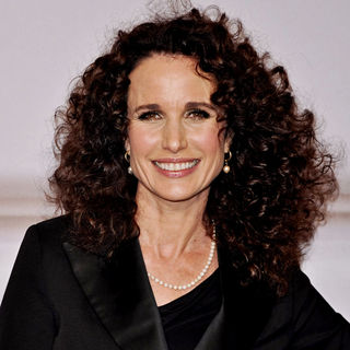 Andie MacDowell in Lavin for H&M Haute Couture Show