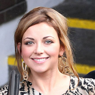 Charlotte Church Outside The ITV Television Studios