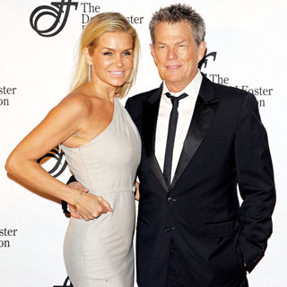 Yolanda Hadid, David Foster in An Intimate Evening with David Foster and Friends - Arrivals