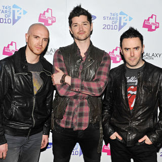 The Script in T4 Stars of 2010 - Press Room