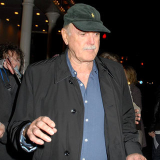 John Cleese Leaves The 24 Hour Plays Celebrity Gala 2010 - wenn3110071