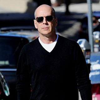 Bruce Willis in Bruce Willis is Seen Heading Out For Lunch