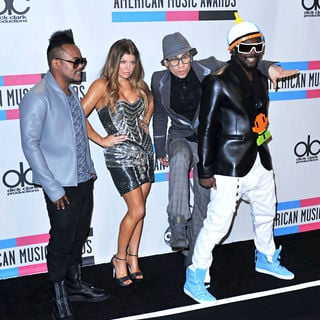 Black Eyed Peas in 2010 American Music Awards - Press Room
