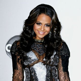 Christina Milian in 2010 American Music Awards - Press Room