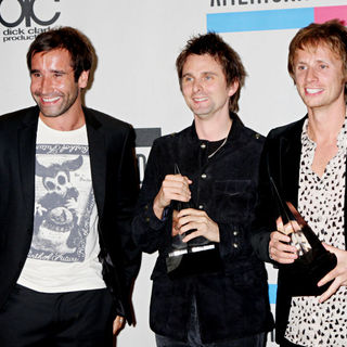Muse in 2010 American Music Awards - Press Room