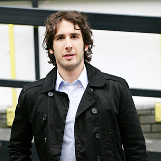 Josh Groban in Josh Groban Outside The ITV Studios