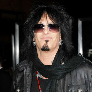 Nikki Sixx in Los Angeles Premiere of 'Faster'