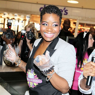 "Fantasia Barrino in Fantasia Barrino Creates A Custom Milkshake Called ""The Southern Paradise Shake"""