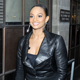 Alesha Dixon in Celebrities Outside The BBC Radio One Studios