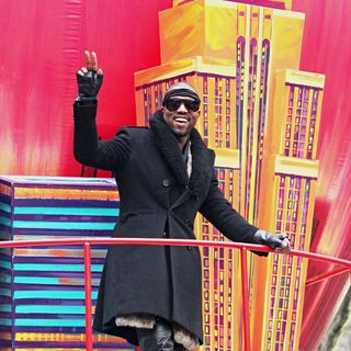 Kanye West in 84th Macy's Thanksgiving Day Parade