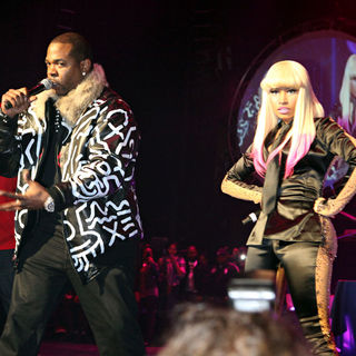 Nicki Minaj, Busta Rhymes in Nicki Minaj Performs Live At The Hammerstein Ballroom With Friends
