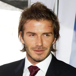 David Beckham in David Beckham Arrives with The English Delegation at The FIFA Headquarters