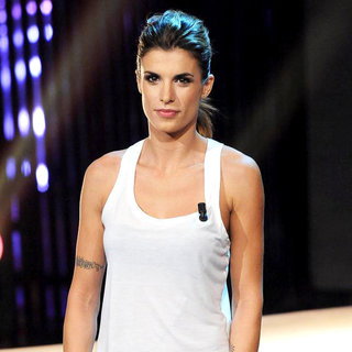 Elisabetta Canalis in Elisabetta Canalis Appears on Television Show 'Very Victoria'