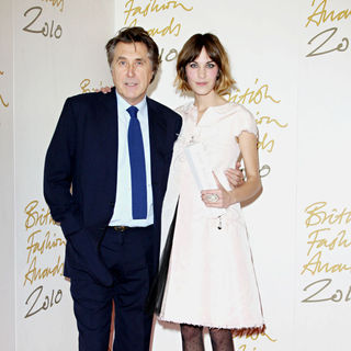 Bryan Ferry, Alexa Chung in The British Fashion Awards 2010 - Arrivals
