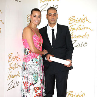 Yasmin Le Bon, Husam El Odeh in The British Fashion Awards 2010 - Arrivals
