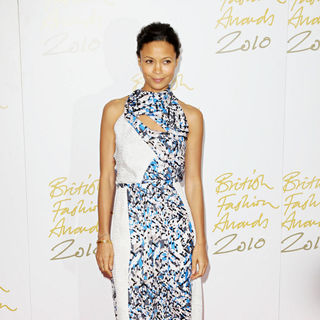 Thandie Newton in The British Fashion Awards 2010 - Arrivals