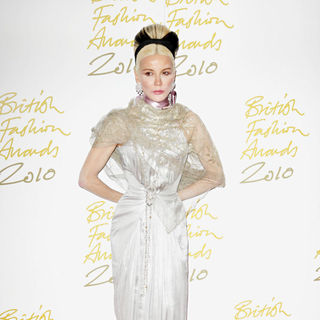 Daphne Guinness in The British Fashion Awards 2010 - Arrivals