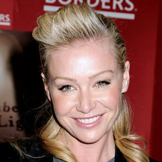 "Portia de Rossi in Portia de Rossi Signs Copies of Her New Book ""Unbearable Lightness: A Story of Loss and Gain"""