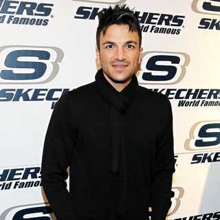 Peter Andre in The Opening of Skechers Footwear