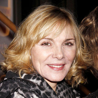 Kim Cattrall in Opening Night After Party for The Off-Broadway Play 'Haunted'