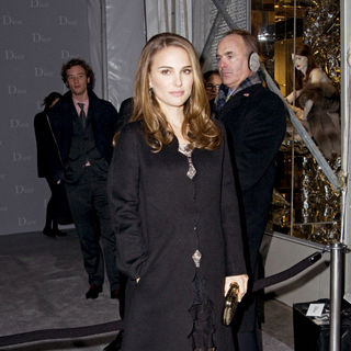 Natalie Portman - Dior Re-Opens Their New York 57th Street Flegship Store - Arrivals