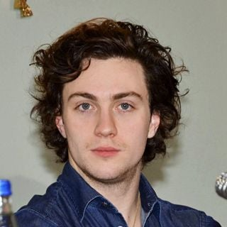 Aaron Johnson in Pre Production Press Conference for 'Albert Nobbs' Film