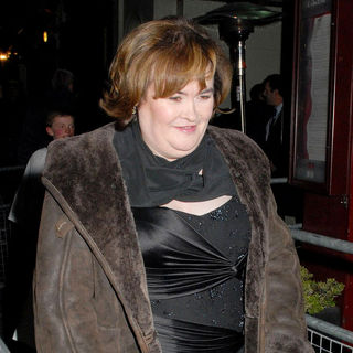 Susan Boyle in The Royal Variety Performance at The London Palladium - Departures