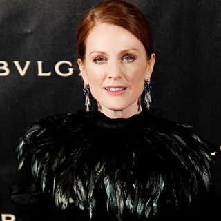 Julianne Moore in Bulgari 125th Anniversary - Arrivals