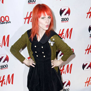 Hayley Williams in Z 100's Jingle Ball 2010 Presented by H&M - Arrivals