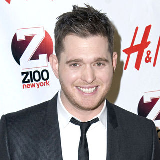 Michael Buble in Z 100's Jingle Ball 2010 Presented by H&M - Arrivals