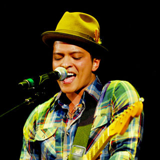Bruno Mars in The 2010 B96 Jingle Bash Show