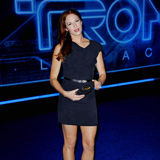 "Amanda Righetti in Los Angeles Premiere of ""Tron Legacy"""