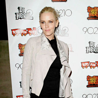 Jenny McCarthy in 9021HO! HO! HO! Toy Drive Benefiting Toys for Tots