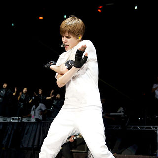 Justin Bieber in The 2010 B96 Jingle Bash Show