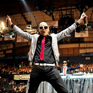 Far East Movement in The 2010 B96 Jingle Bash Show