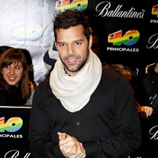 Ricky Martin in '40 Principales Awards 2010'