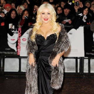 Christina Aguilera in 'Burlesque' UK Film Premiere - Arrivals