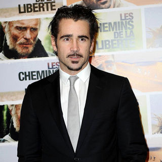 Colin Farrell in The Paris Premiere of 'The Way Back'