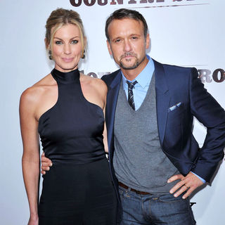 Faith Hill, Tim McGraw in Screening of 'Country Strong' - Arrivals
