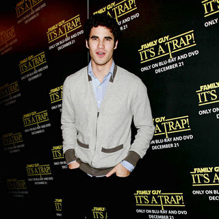 Darren Criss in Family Guy: It's A Trap DVD Launch Party
