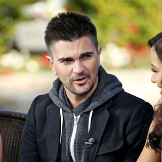 Juanes in Juanes Filming at The Grove