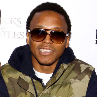Lupe Fiasco in The Platinum Motorsport First Annual Toys for Tot's Party